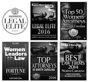 Raleigh North Carolina divorce lawyer awards